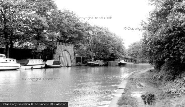 Worsley, the Boathouse c1955