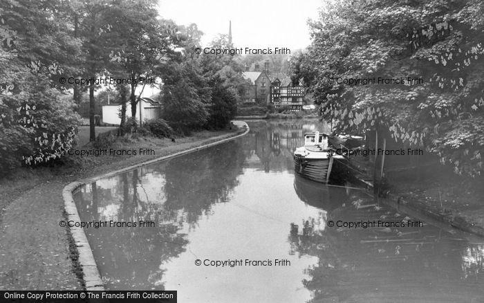 Photo of Worsley, The Bridgewater Canal c.1960