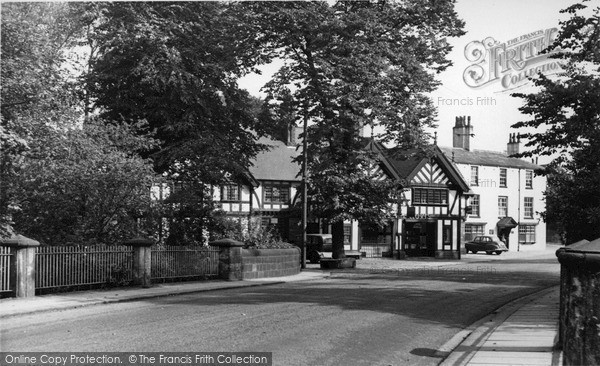 Photo of Worsley, The Cafe c.1950