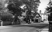Worsley, the Cafe c1950