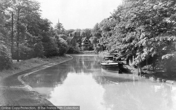 Photo of Worsley, The Canal c.1960