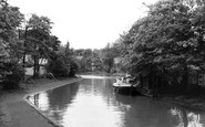 Worsley, the Canal c1955
