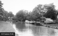Worsley, The Canal c.1960