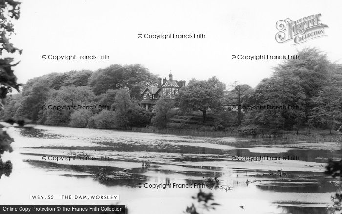 Photo of Worsley, The Dam c.1965