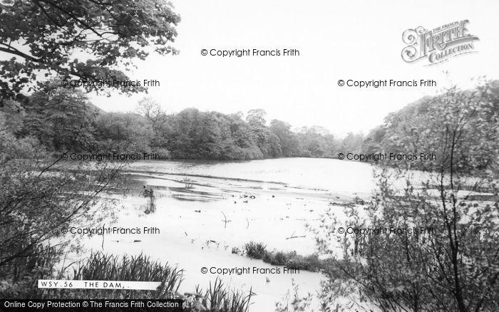 Photo of Worsley, The Dam c.1965