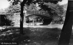 Worsley, The Humpbacked Bridge c.1955
