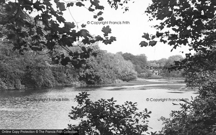 Photo of Worsley, The Old Dam c.1950