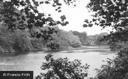 Worsley, The Old Dam c.1950