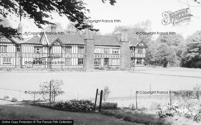 Photo of Worsley, The Old Hall c.1960