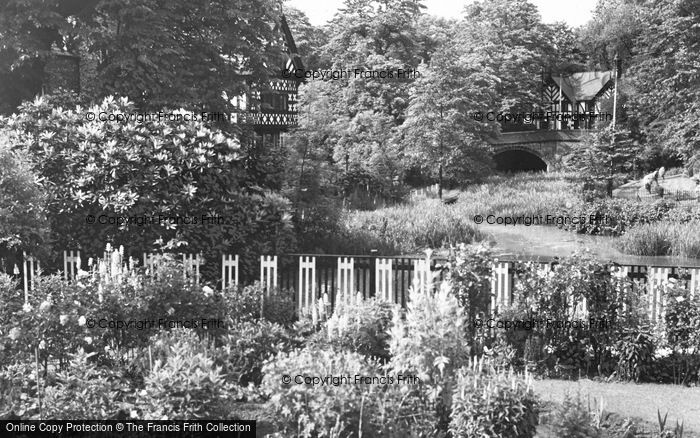 Photo of Worsley, The Packet House c.1960