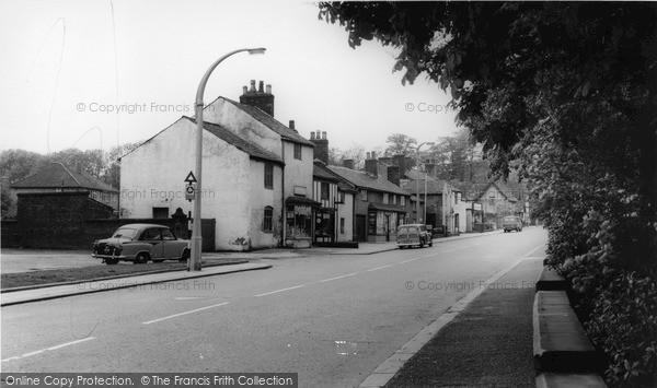 Photo of Worsley, The Village c.1965