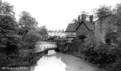 Worsley, The Wooden Bridge c.1960