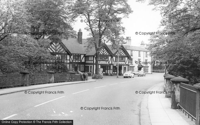 Photo of Worsley, Worsley Road c.1965