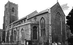 St Mary's Church c.1955, Worstead