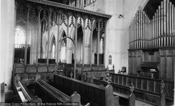 Photo of Worstead, St Mary's Church, Interior c.1955