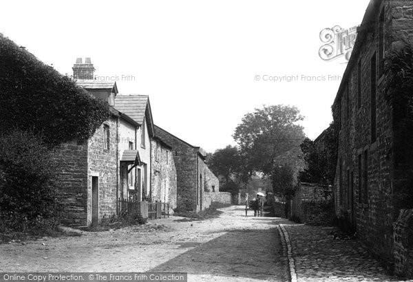 Photo of Worston, Village 1894
