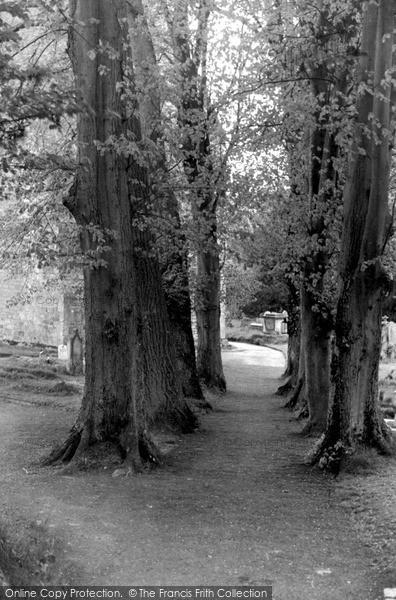 Photo of Worth, Church Walk c.1955