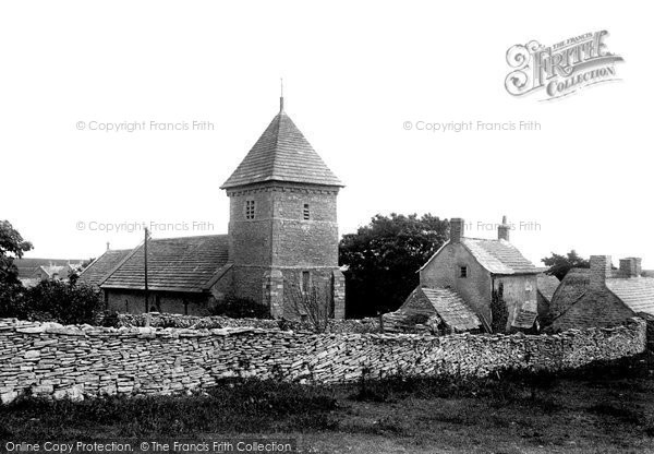 Photo of Worth Matravers, St Nicholas's Church 1899