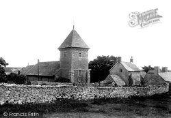 Worth Matravers, St Nicholas's Church 1899