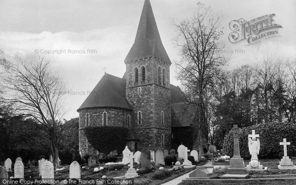 Photo of Worth, St Nicholas' Church 1906