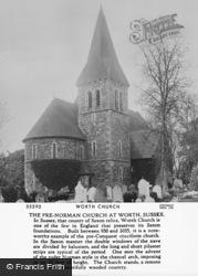 Worth, St Nicholas' Church 1906