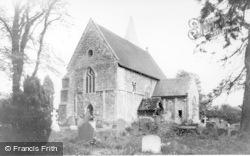 Worth, St Nicholas' Church c.1955