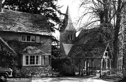 Worth, St Nicholas' Church c.1960