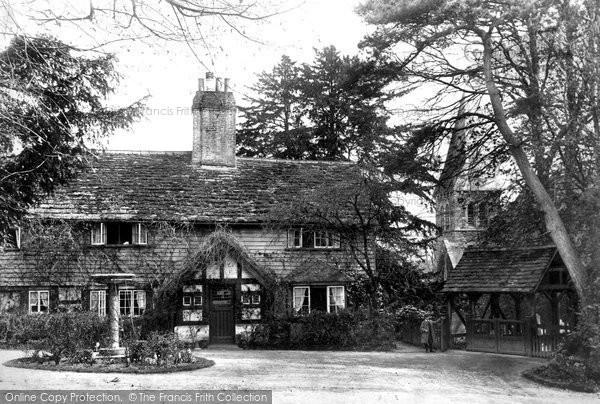 Photo of Worth, St Nicholas' Church Lychgate 1906