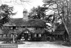 Worth, St Nicholas' Church Lychgate 1906