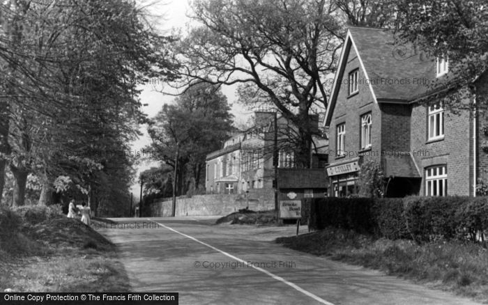 Photo of Worth, Worth Corner, Pound Hill c.1955