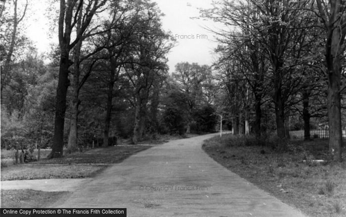 Photo of Worth, Woth Park c.1955
