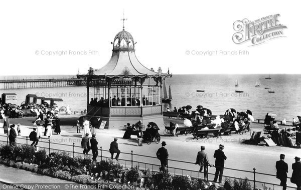 Photo of Worthing, Bandstand 1899