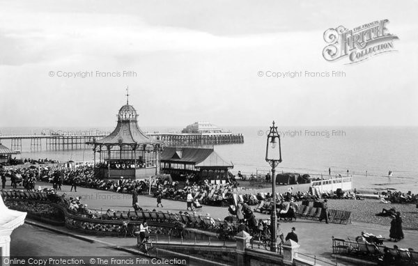 Photo of Worthing, Bandstand And Pier 1919