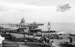 Bandstand And Pier 1919, Worthing