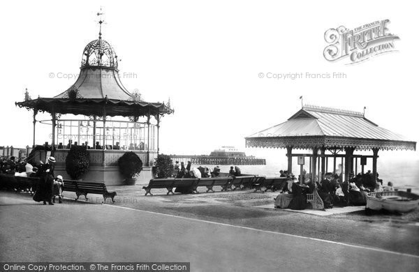 Photo of Worthing, Bandstand And Shelter 1899
