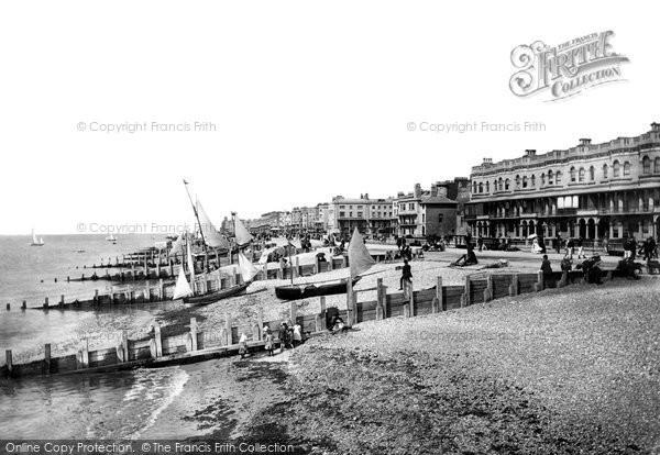 Photo of Worthing, Beach 1890