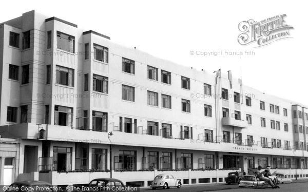Photo of Worthing, Beach Hotel c.1965