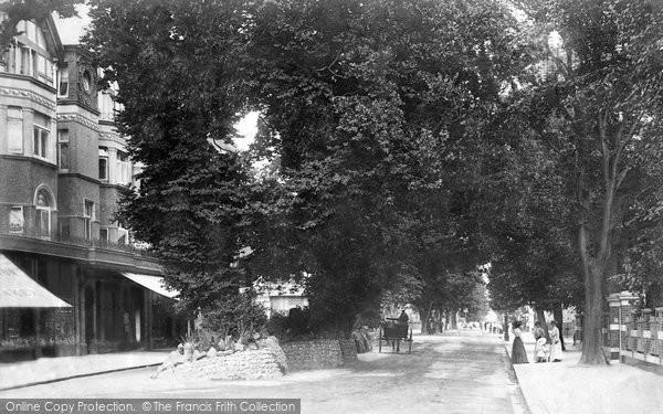 Photo of Worthing, Broadway 1904