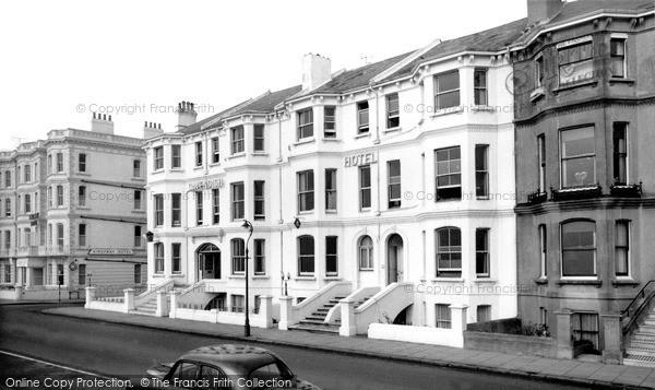 Photo of Worthing, Cavendish Hotel c.1965