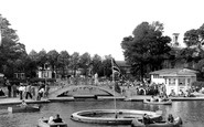 Worthing, Children's Boating Pool c1955