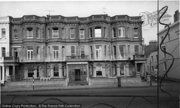 Photo of Worthing, Cumberland Hotel c.1965