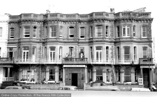 Photo of Worthing, Cumberland Hotel c.1965