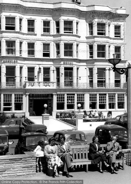 Photo of Worthing, Eardley Hotel c.1965