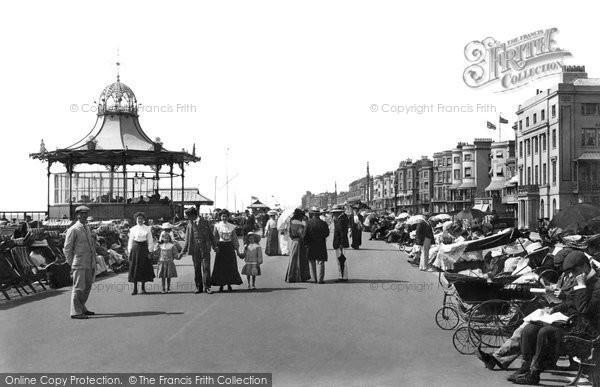 Photo of Worthing, Esplanade 1906