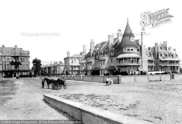 Photo of Worthing, Esplanade, East End 1890