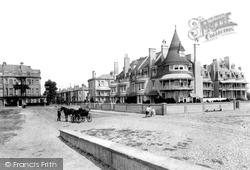 Esplanade, East End 1890, Worthing