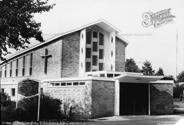 Photo of Worthing, Findon Valley Free Church c.1965