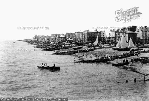 Photo of Worthing, From The Pier 1903