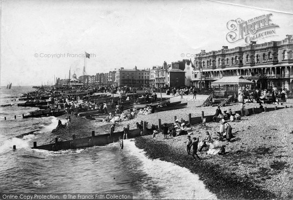Photo of Worthing, From The Pier 1906