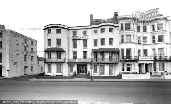 Photo of Worthing, Granville Hotel c.1965